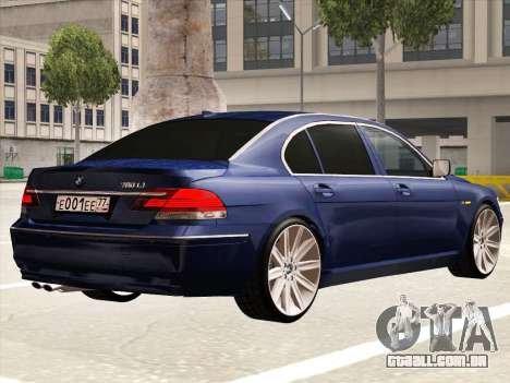 BMW 760Li para GTA San Andreas vista direita