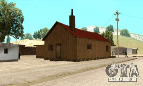 Nova casa do Sijia em El Quebrados v1.0 para GTA San Andreas terceira tela