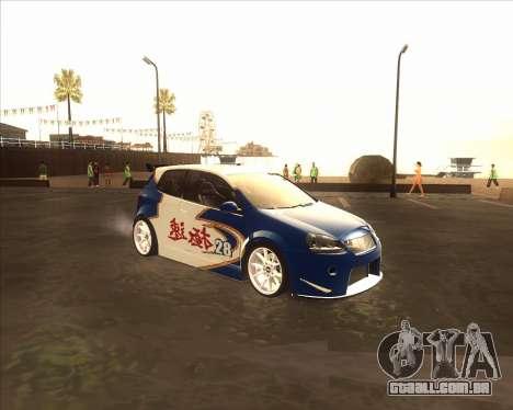 Volkswagen Golf из NFS Most Wanted para GTA San Andreas