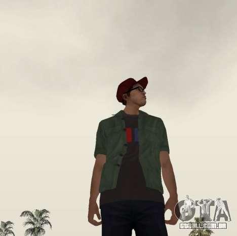 New Zero para GTA San Andreas quinto tela