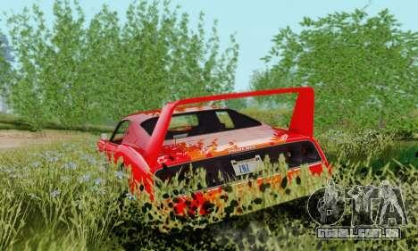 Imponte Phoenix из GTA 5 para GTA San Andreas traseira esquerda vista