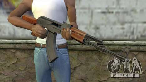 AK-47 Assault Rifle para GTA San Andreas terceira tela