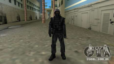 Lutador russo Spetsnaz do CS:CZ para GTA Vice City terceira tela