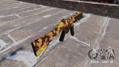 A metralhadora HK MP5 Queda Camos para GTA 4 segundo screenshot