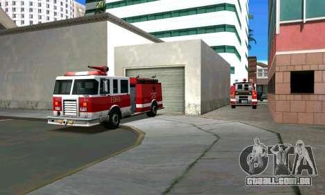Fogo station em Los Santos para GTA San Andreas segunda tela