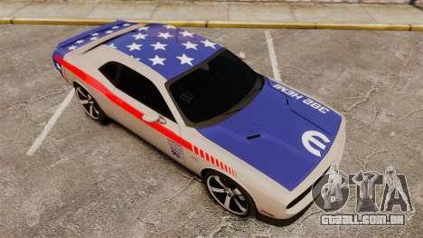 Dodge Challenger SRT8 2012 para GTA 4 interior