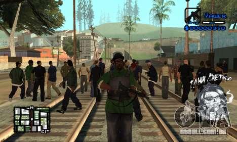 C-HUD Tawi Detka para GTA San Andreas segunda tela