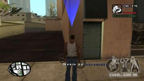 Nova fonte V.3 para GTA San Andreas para GTA San Andreas sétima tela