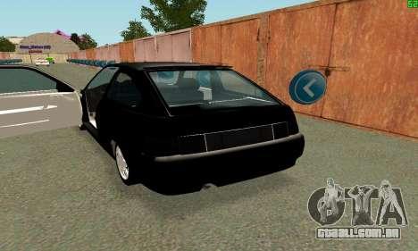 VAZ-21123 TURBO-Cobra para GTA San Andreas vista direita