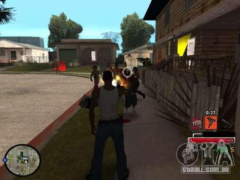 C-HUD by Martin para GTA San Andreas terceira tela