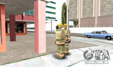 Fogo station em Los Santos para GTA San Andreas quinto tela