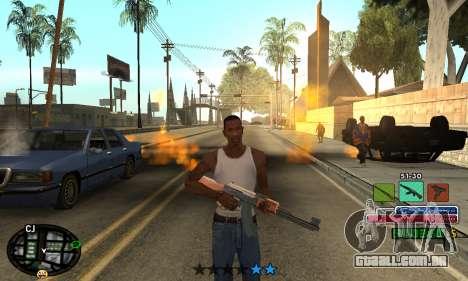 C-HUD Rainbow para GTA San Andreas segunda tela