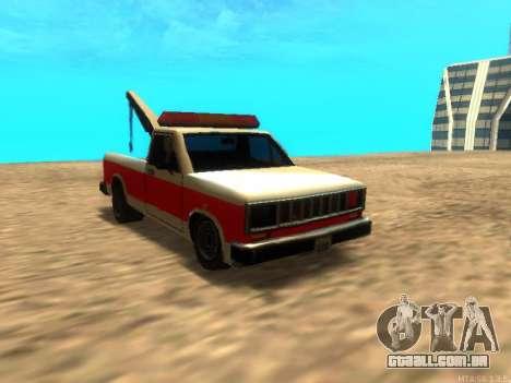 Novo Reboque (Bobcat) para GTA San Andreas