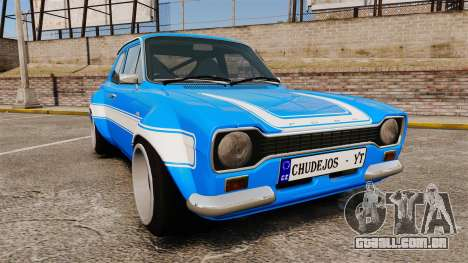 Ford Escort MK1 FnF Edition para GTA 4