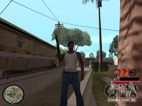 C-HUD by Martin para GTA San Andreas segunda tela