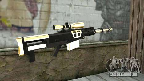 Golden Sniper Rifle para GTA San Andreas segunda tela