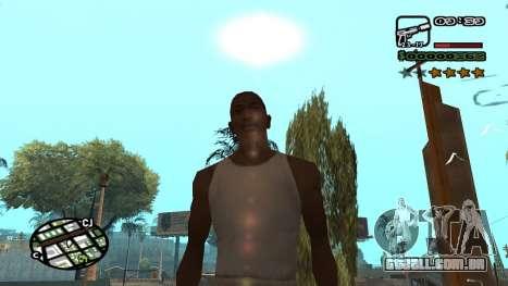 Nova fonte V.3 para GTA San Andreas para GTA San Andreas terceira tela