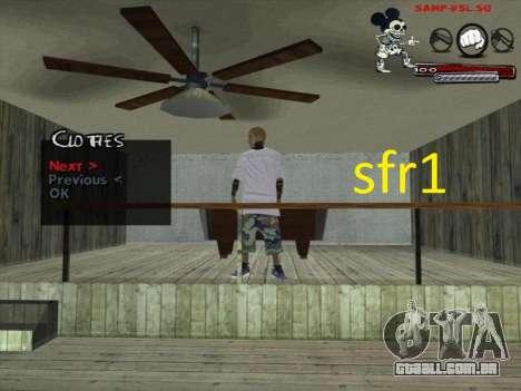 Peles Surenos 13 para GTA San Andreas por diante tela