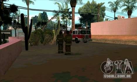 Realista de bombeiros em Las Venturas para GTA San Andreas segunda tela