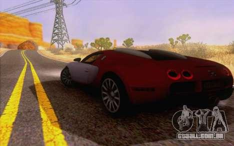 ENBS V4 para GTA San Andreas por diante tela