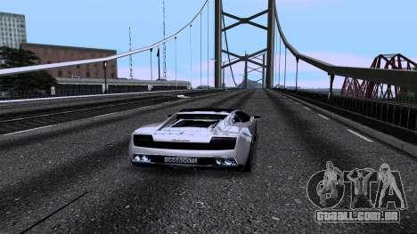 New Roads v2.0 para GTA San Andreas oitavo tela