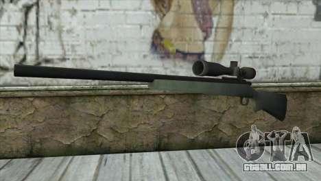 M40A1 Sniper Rifle para GTA San Andreas
