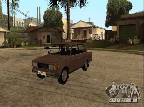 VAZ 2105 versão inicial para GTA San Andreas