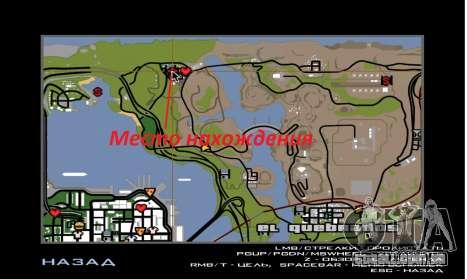Nova casa do Sijia em El Quebrados v1.0 para GTA San Andreas por diante tela