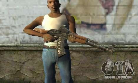Point Blank AK47 Elite para GTA San Andreas terceira tela