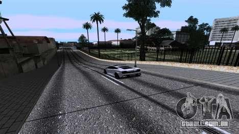 New Roads v2.0 para GTA San Andreas twelth tela