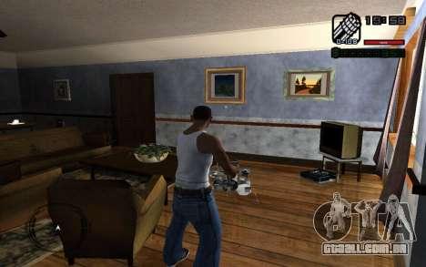 C-HUD by Smoke para GTA San Andreas segunda tela