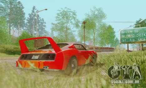 Imponte Phoenix из GTA 5 para GTA San Andreas vista direita