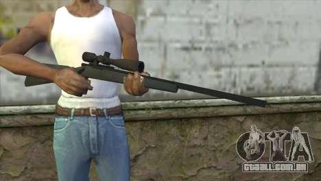 M40A1 Sniper Rifle para GTA San Andreas terceira tela