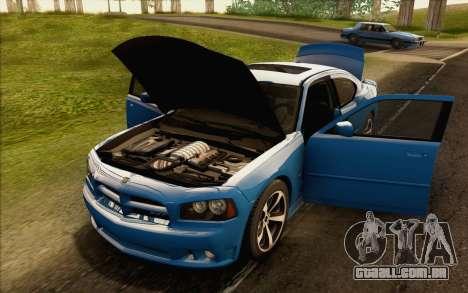 Dodge Charger SRT8 2006 para GTA San Andreas vista interior