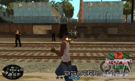 C-HUD Rainbow para GTA San Andreas terceira tela