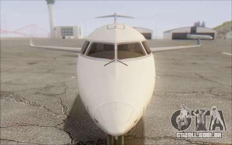 Garuda Indonesia Bombardier CRJ-700 para GTA San Andreas vista traseira