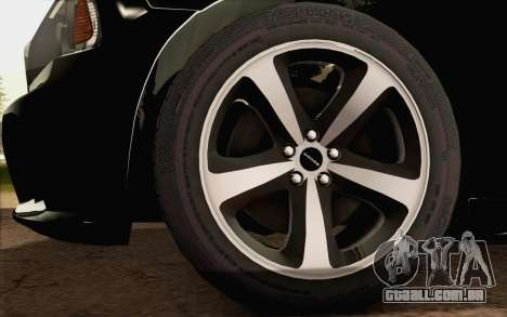 Dodge Charger SRT8 2006 para GTA San Andreas traseira esquerda vista