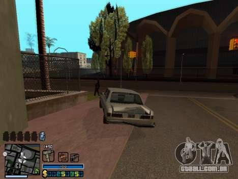 C-HUD By Stafford para GTA San Andreas oitavo tela