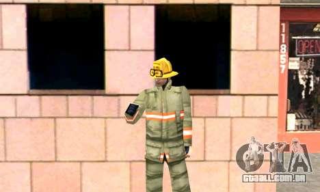 Fogo station em Los Santos para GTA San Andreas por diante tela