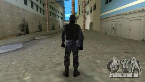 Lutador russo Spetsnaz do CS:CZ para GTA Vice City segunda tela