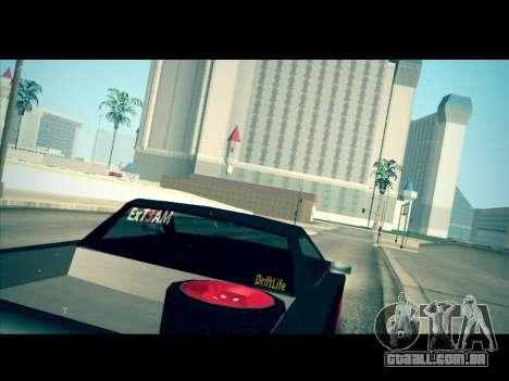 Elegy P1kachuxa Private para GTA San Andreas esquerda vista