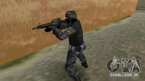 Lutador russo Spetsnaz do CS:CZ para GTA Vice City por diante tela