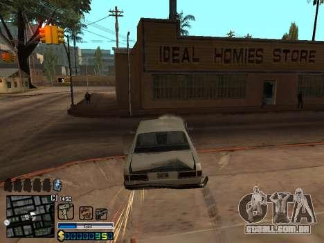 C-HUD By Stafford para GTA San Andreas sétima tela