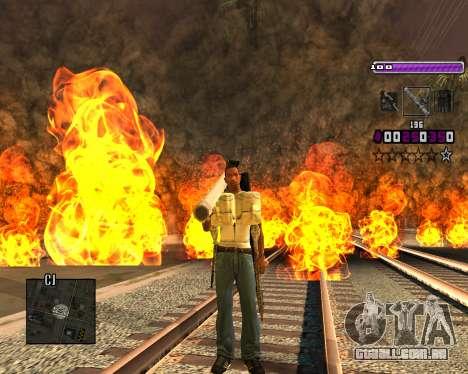 C-HUD Lite v3.0 para GTA San Andreas