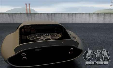 Shelby Cobra Daytona para GTA San Andreas vista traseira