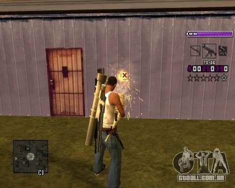 C-HUD Lite v3.0 para GTA San Andreas sétima tela