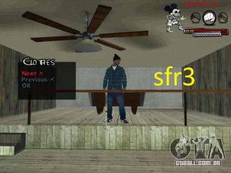 Peles Surenos 13 para GTA San Andreas terceira tela
