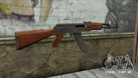 AK-47 Assault Rifle para GTA San Andreas segunda tela