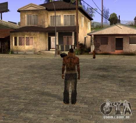 Uma calça jeans nova, por CJ para GTA San Andreas segunda tela