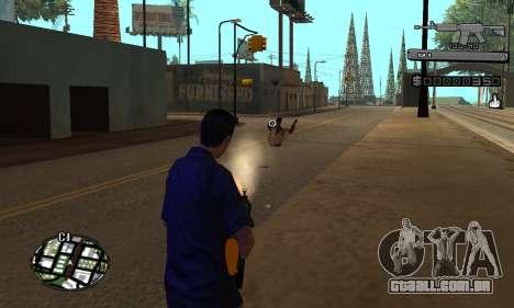 C-HUD Smoke para GTA San Andreas terceira tela